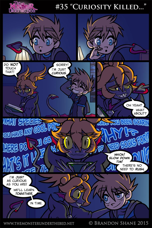 """#35 """"Curiosity Killed…"""""""