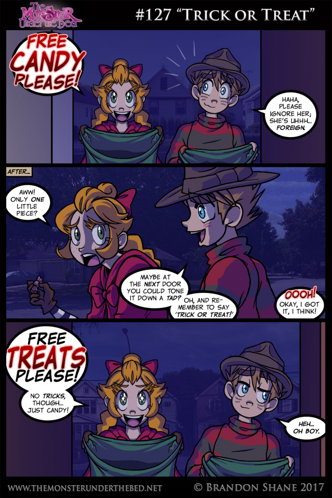 Trick or treat - 3 3