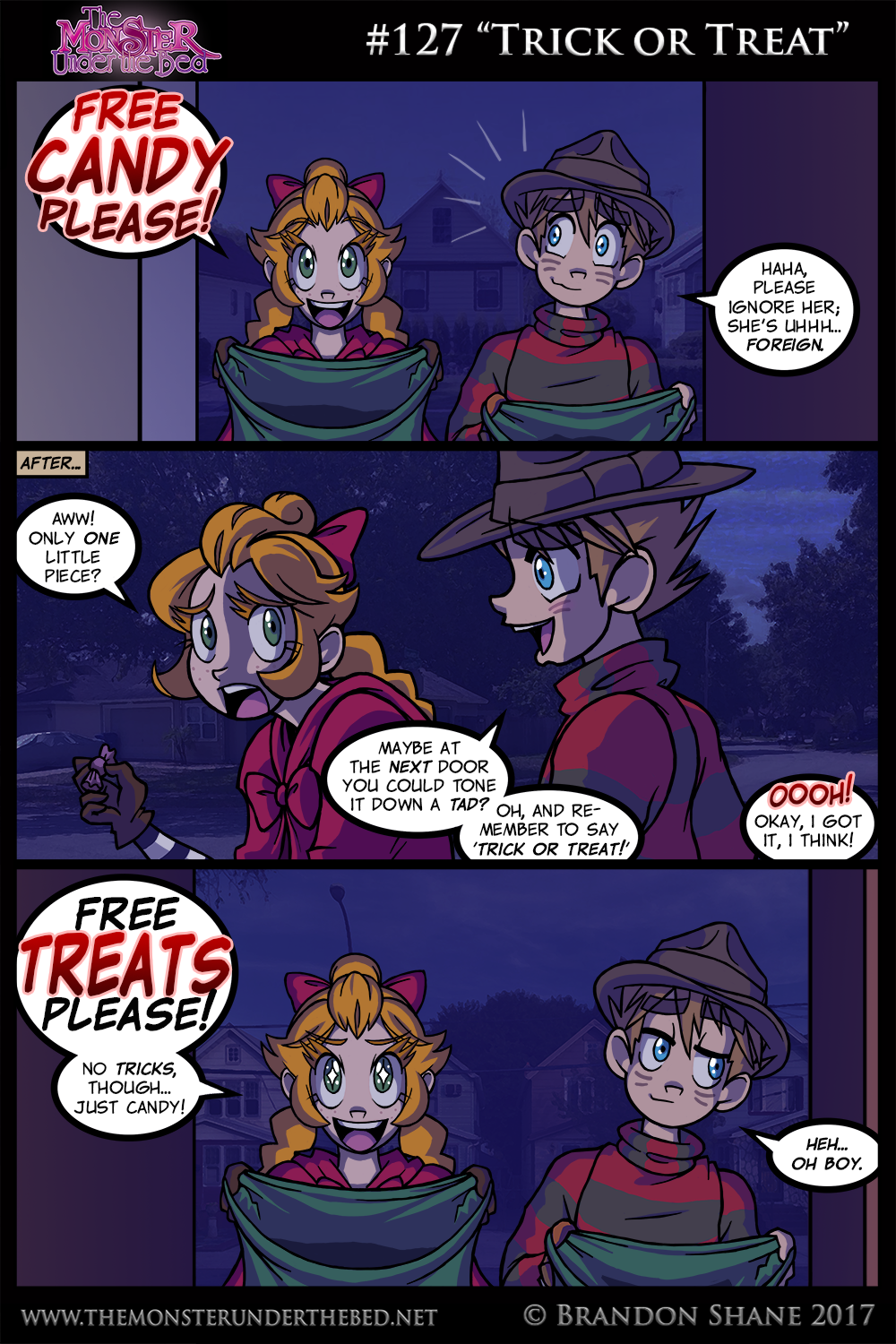"#127 ""Trick or Treat"""